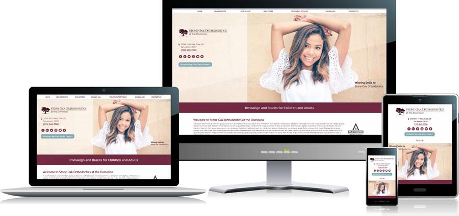 Orthodontic-Website-Design-Responsive-Formats