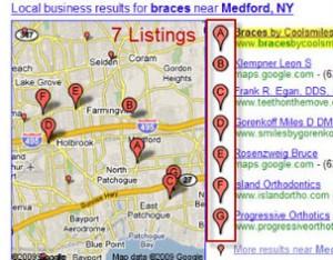 Maps 7 listings